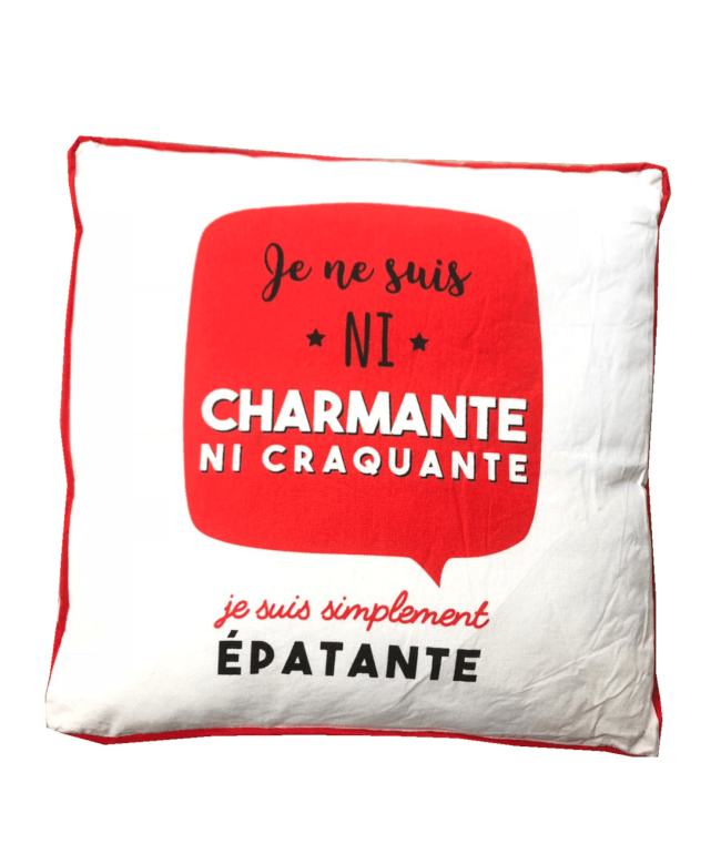 Image 1 Coussin Epatante
