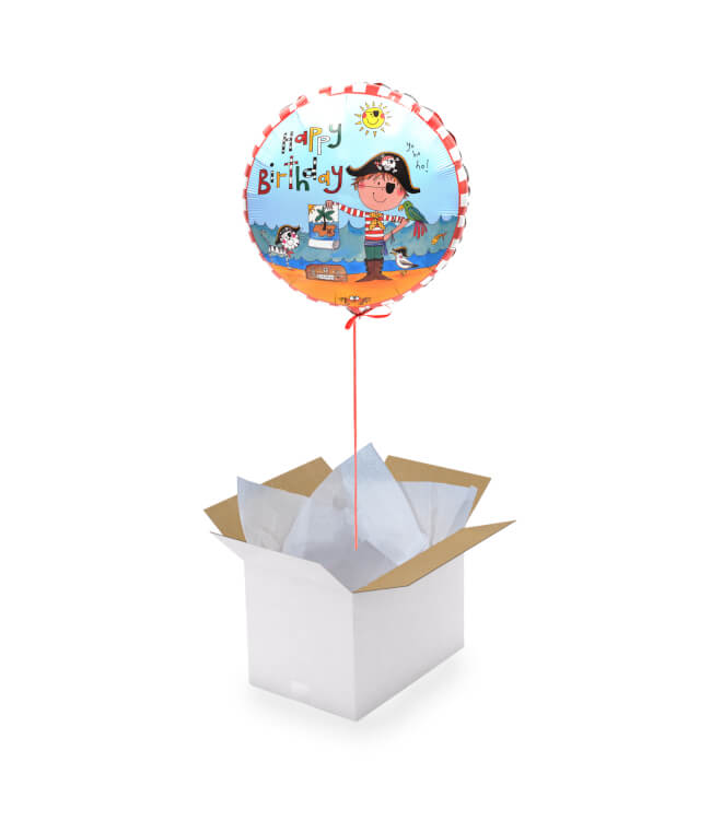 Image 1 Boy Birthday Balloon