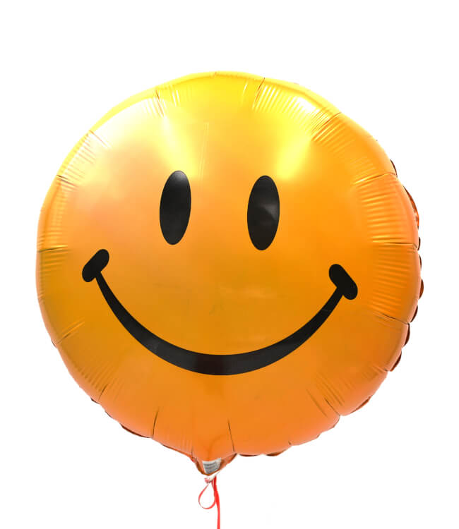 Image 2 Happy Smiley Balloon