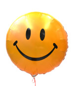 Vignette 3 Happy Smiley Balloon