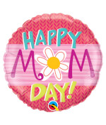Vignette 3 Flower Mother's Day Balloon