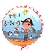 Vignette 3 Boy Birthday Balloon