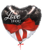 "Vignette 3 ""Valentine's Day"" Balloon"