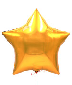 Vignette 3 Gold Star Balloon